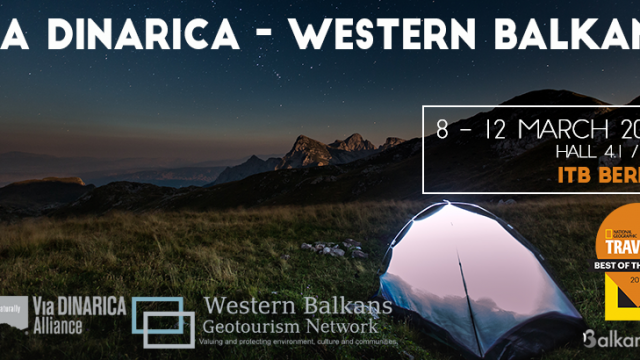 Come meet us at the ITB Berlin: The Western Balkans and Via Dinarica Hiking Trail Aim for the Stars